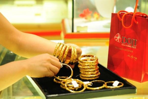 Tỷ giá vàng DOJI SG hôm nay bao nhiêu tiền 1 chỉ