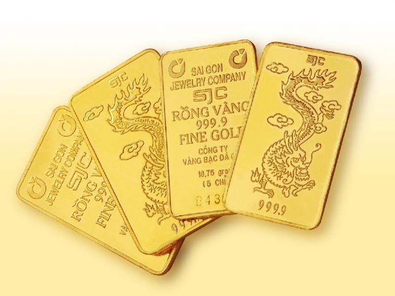 Vàng SJC giá vàng hôm nay