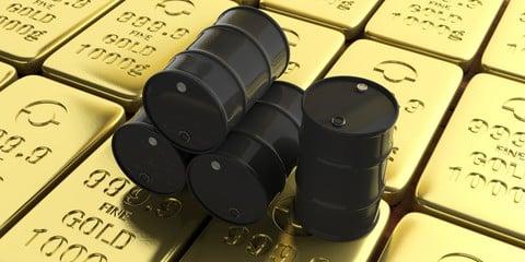 Giá vàng sẽ bị tác động như thế nào khi giá dầu rớt thảm?