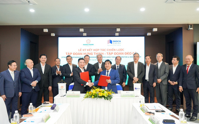 Tập đoàn Đèo Cả hợp tác chiến lược cùng Tập đoàn Hưng Thịnh
